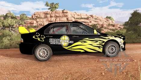 Mitsubishi Lancer Evolution IX 2006 v2.1 für BeamNG Drive