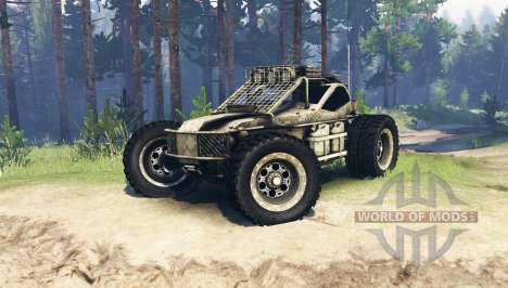 Buggy Hard To Master pour Spin Tires
