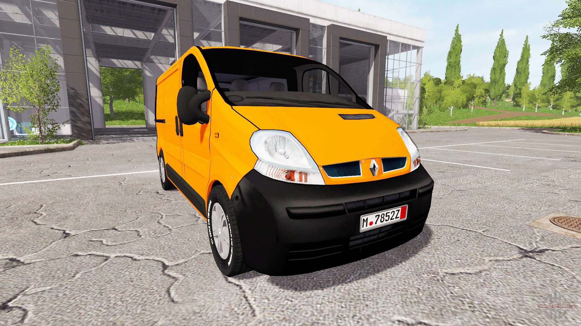 renault trafic v1 4 4 pour farming simulator 2017. Black Bedroom Furniture Sets. Home Design Ideas
