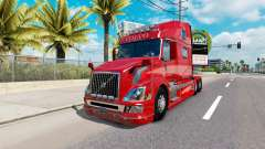 Haut Rot Fantasy-v2.0 für Volvo-LKW-VNL 780