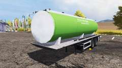 Slurry manure tanker pour Farming Simulator 2013