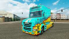La peau McKays par Vince tracteur Scania T