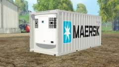 Container reefer 20ft Maersk
