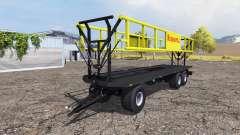 Krassort bale trailer v1.1 für Farming Simulator 2013