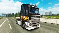 Skin Lamborghini Gallardo to the Volvo trucks