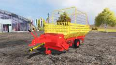 Bautz forage trailer