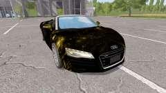 Audi R8 V10 Spyder starlight