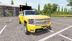 Chevrolet Silverado 1500 v2.0 pour Farming Simulator 2017