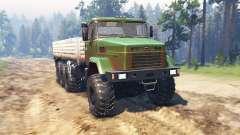 KrAZ 7140 v1.2 pour Spin Tires