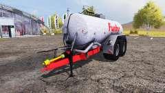 Fuchs liquid manure tank