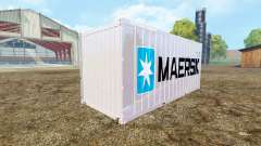 Container 20ft Maersk