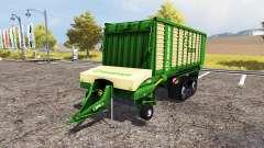 Krone ZX 450 GD terratrac