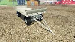 Fortschritt HW 80 bale trailer v1.1