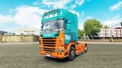 Péage de la peau pour Scania camion