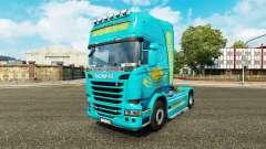 Die Haut Kasachstan für Zugmaschine Scania