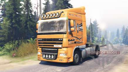 DAF XF 105 pour Spin Tires