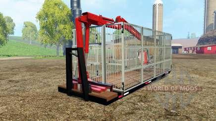 ITRunner forest edition v0.6 pour Farming Simulator 2015