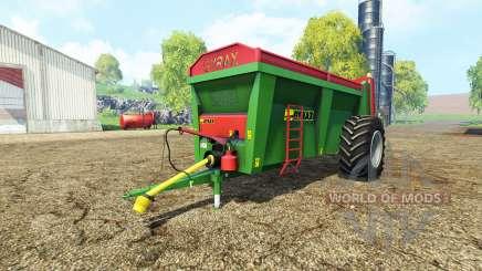 Gyrax EBMX 155 v1.1 für Farming Simulator 2015