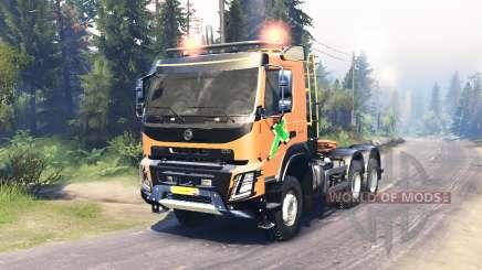 Volvo FMX 500 6x6 für Spin Tires