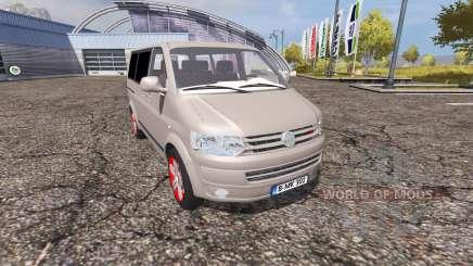 Volkswagen Caravelle (T5) TDI v2.0 pour Farming Simulator 2013