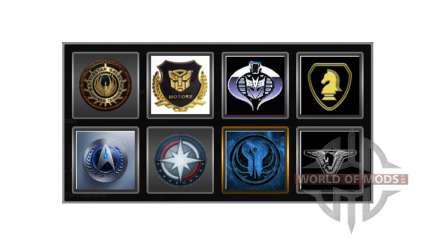 Logos für das Unternehmen für Euro Truck Simulator 2