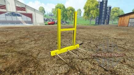 Bale fork für Farming Simulator 2015