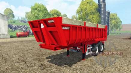 Fruehauf tipper semitrailer pour Farming Simulator 2015