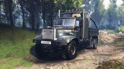 KrAZ 255 B1 Crocodile v3.0 pour Spin Tires