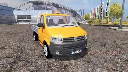 Volkswagen Transporter Dropside (T5) für Farming Simulator 2013