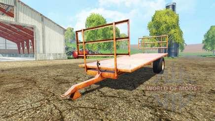 Bale trailer pour Farming Simulator 2015