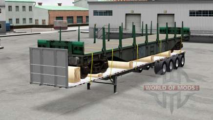 Oversize trailers USA pour American Truck Simulator