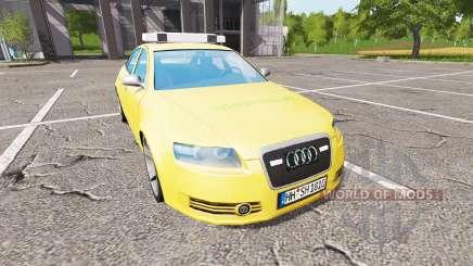 Audi A6 (C6) feuerwehr pour Farming Simulator 2017