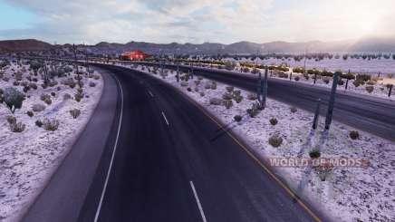 Glacial de l'hiver v2.1 pour American Truck Simulator