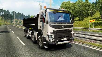 Volvo FMX Meiller Kipper pour Euro Truck Simulator 2