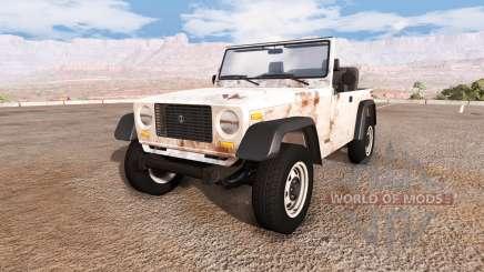 Ibishu Hopper rusty v1.1 pour BeamNG Drive