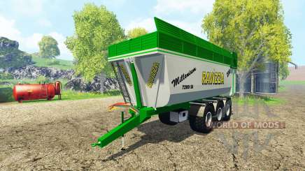 Ravizza Millenium 7200 v2.0 für Farming Simulator 2015