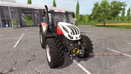 Steyr Terrus 6300 CVT v1.4 pour Farming Simulator 2017