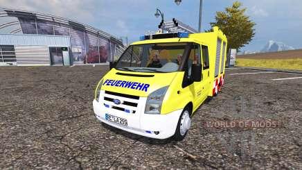 Ford Transit feuerwehr pour Farming Simulator 2013