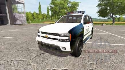 Chevrolet TrailBlazer Police für Farming Simulator 2017