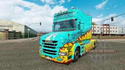 La peau McKays par Vince tracteur Scania T pour Euro Truck Simulator 2
