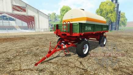 Krone Emsland water tank für Farming Simulator 2015