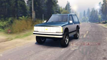 Chevrolet S-10 Blazer 1980 pour Spin Tires