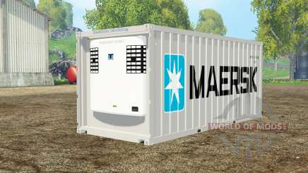 Container reefer 20ft Maersk für Farming Simulator 2015