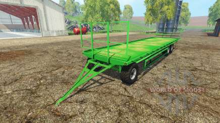 Universal bale trailer pour Farming Simulator 2015