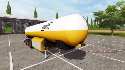 Kaweco 54000l pour Farming Simulator 2017