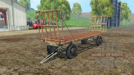 Bale trailer für Farming Simulator 2015