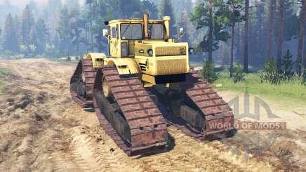 Kirovets K 700A crawler für Spin Tires