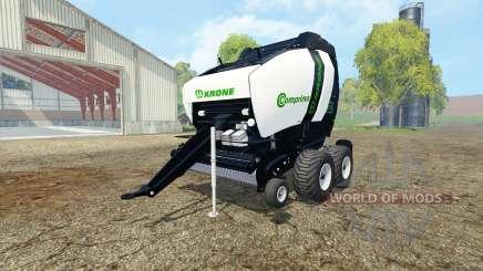 Krone Comprima V180 XC black v1.1 pour Farming Simulator 2015