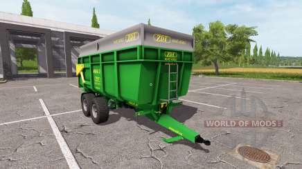 ZDT Mega 20 pour Farming Simulator 2017