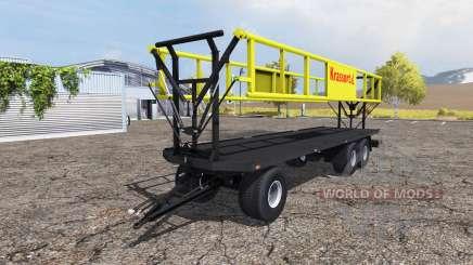 Krassort bale trailer v1.1 pour Farming Simulator 2013